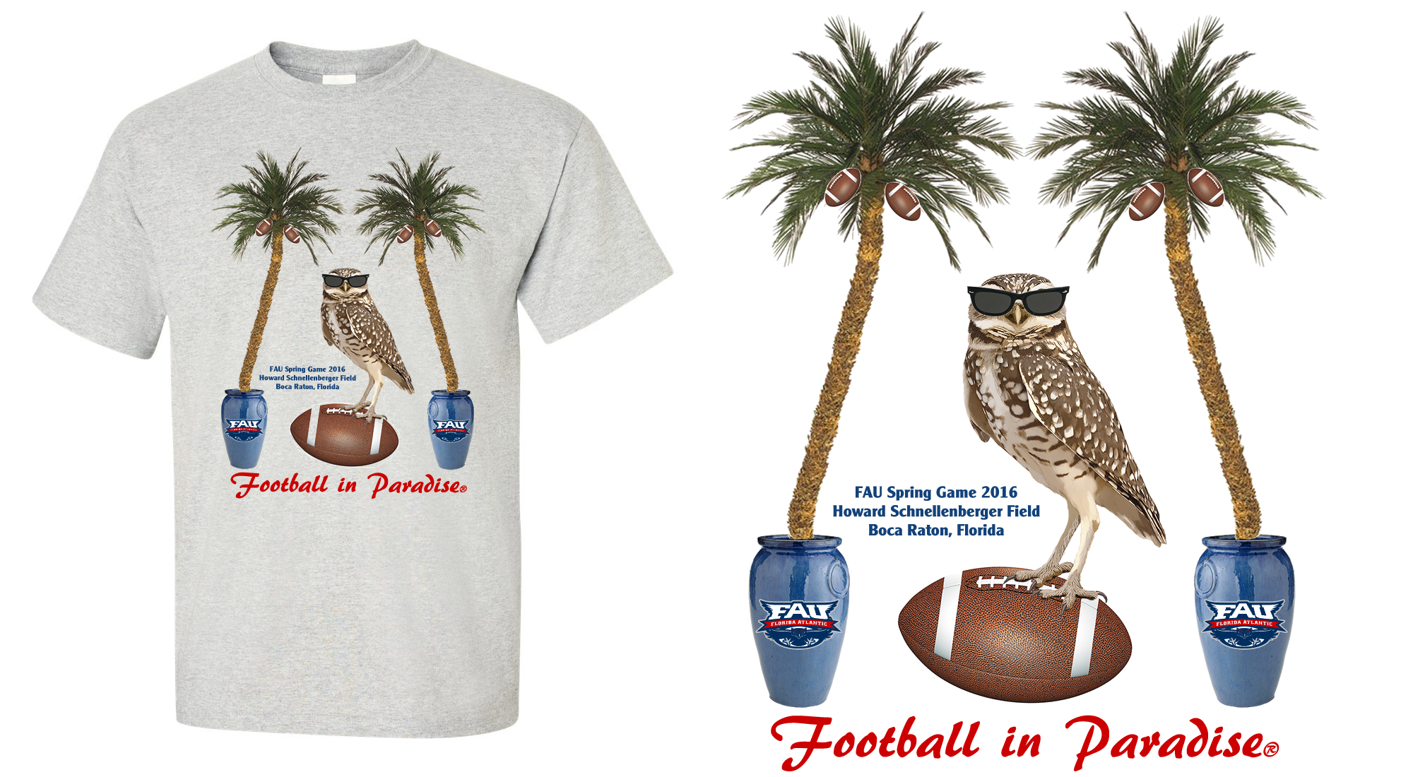 FAU Spring Game T-Shirt