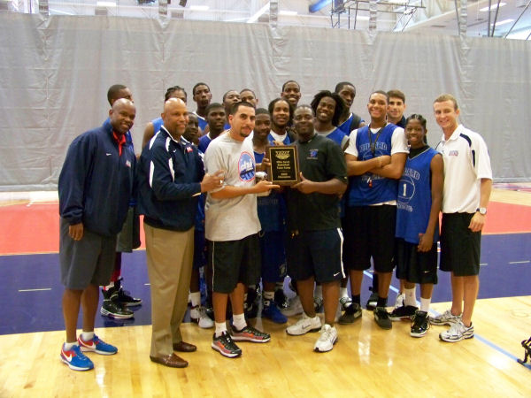 Dillard High School Players and Coaches with FAU Coaches