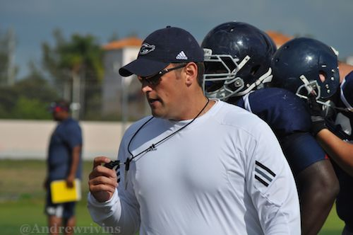 FAU assistant coach Bart Miller has started making calls to prospects now that the spring evaluation period has started.