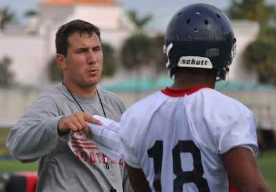 FAU assistant Nick Caley will join the rest of the staff at Lawton Chiles High School in Tallahassee on Friday for a satellite camp.